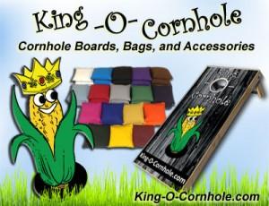 king-o-cornhole cornhole boards