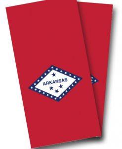 Arkansas Flag Cornhole Wrap