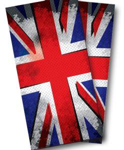 British Flag Punk Cornhole Wrap