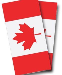 Canadian Flag Cornhole Wrap