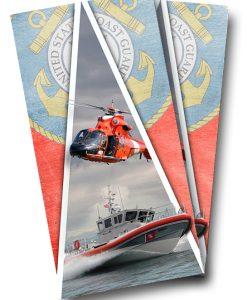 Coast Guard Cornhole Wrap
