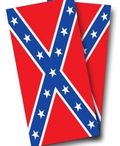 Confederate Flag Cornhole Wrap