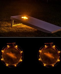 Cornhole Lights Amber