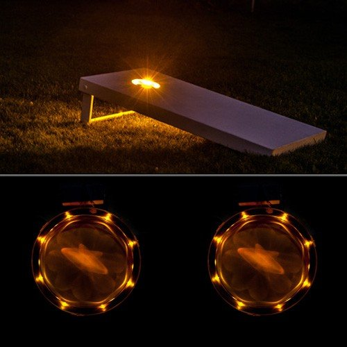 Cornhole Lights Amber
