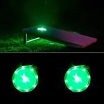 Cornhole Lights Green