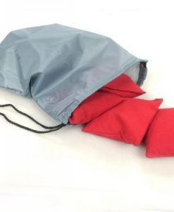 Cornhole Tote Bag in used