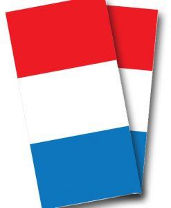 French Flag Cornhole Wrap