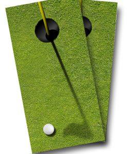 Golf Cornhole Wrap