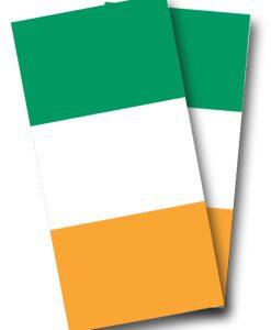 Irish Flag Cornhole Wrap