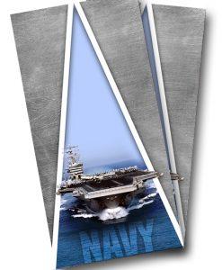 Navy Cornhole Wrap