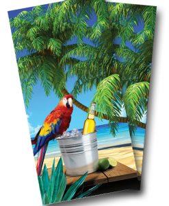Parrot Cornhole Wrap