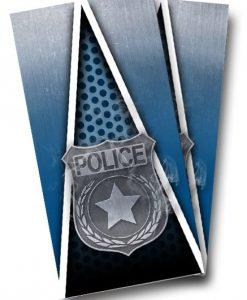 Police Cornhole Wrap