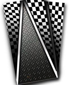 Racing Cornhole Wrap