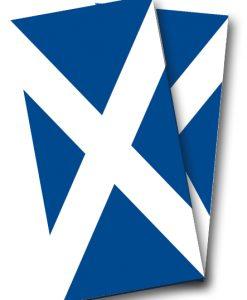 Scottish Flag Wrap