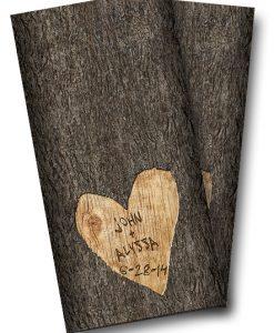 Wedding Tree Carved Wrap