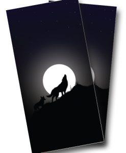 Wolf Cornhole Wrap
