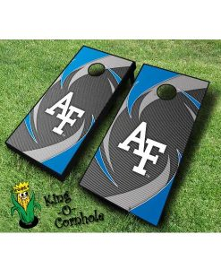 AirForce Swoosh cornhole boards
