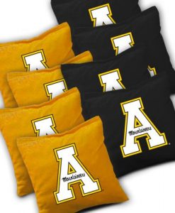 App State Mountaineers Cornhole Bags Set of 8