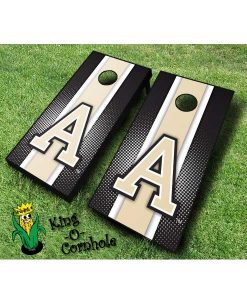 Army NCAA cornhole boards-Stripe