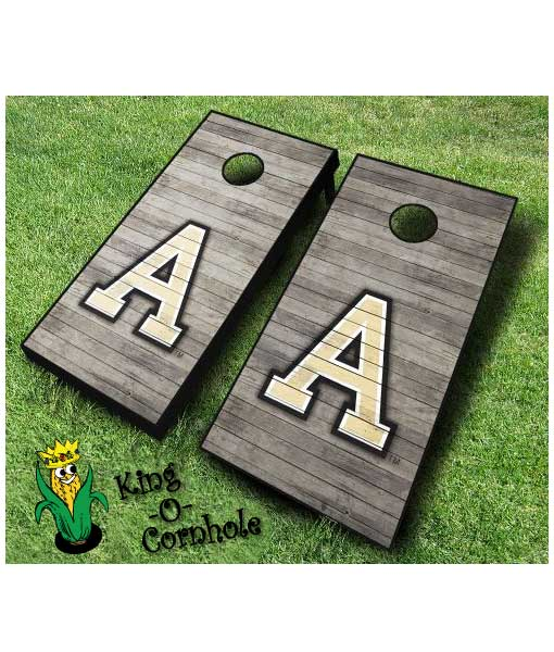Army NCAA cornhole boards Distressed