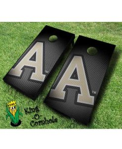 Army NCAA cornhole boards Slanted