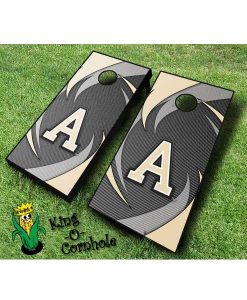 Army NCAA cornhole boards Swoosh