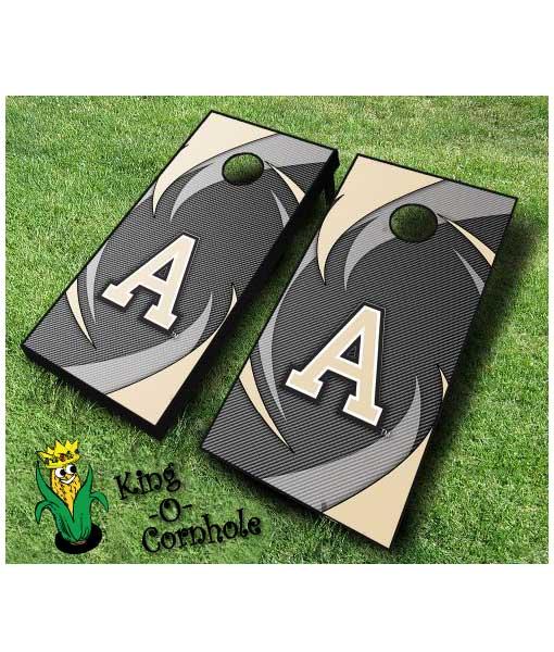 Army NCAA cornhole boards Swoosh