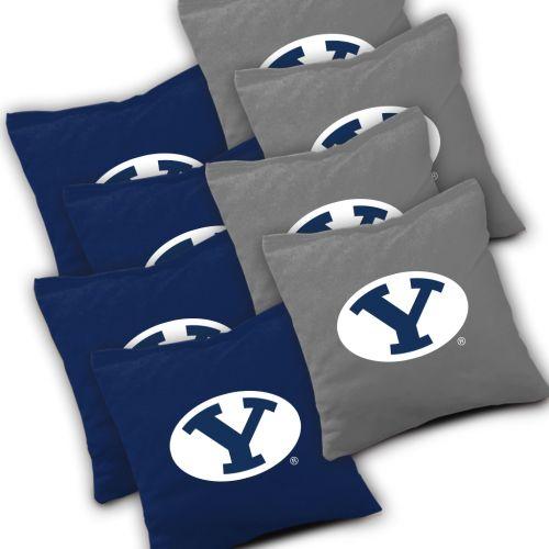 BYU Cougars Cornhole Bags Set of 8