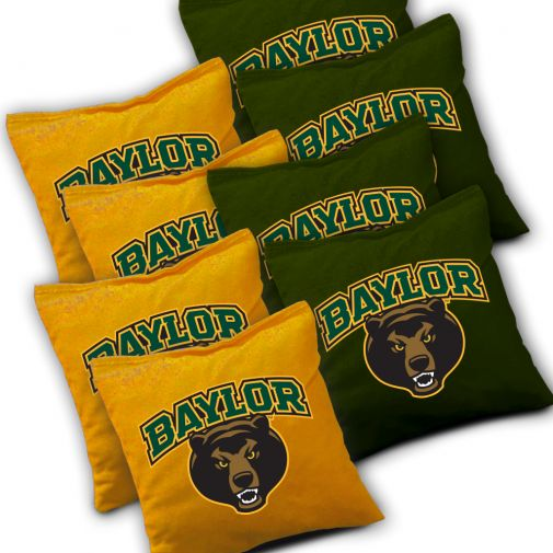Baylor Bears Cornhole Bags Set of 8