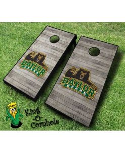 Baylor Bears NCAA cornhole boards Distressed