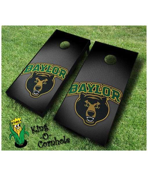 Baylor Bears NCAA cornhole boards Slanted