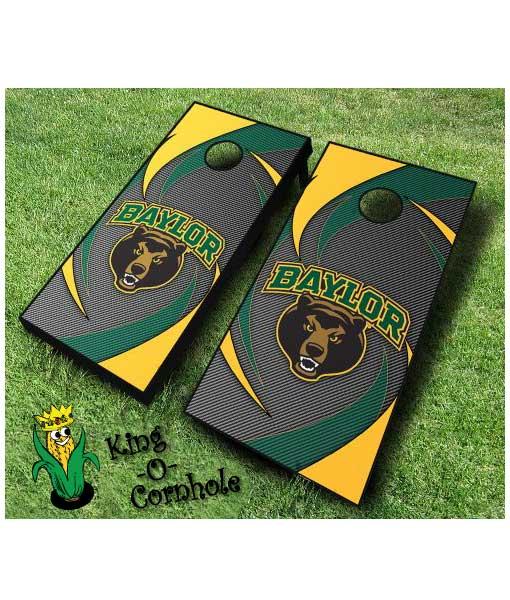 Baylor Bears NCAA cornhole boards Swoosh