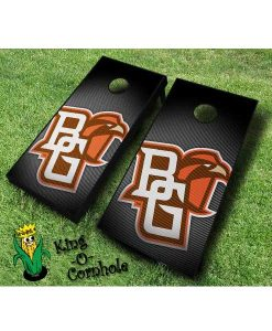 Bowling Green NCAA cornhole boards Slanted