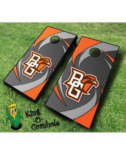 Bowling Green NCAA cornhole boards Swoosh