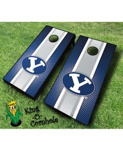 Brigham Young BYU NCAA cornhole boards-Stripe