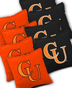 Campbell Camels Cornhole Bags Set of 8