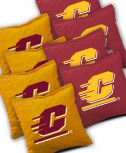 Central Michigan Chippewas Cornhole Bags Set of 8