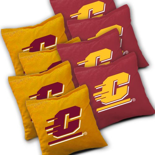 Central Michigan Chippewas Cornhole Bags Set of 8