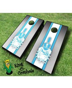 Citadel Bulldogs NCAA cornhole boards-Stripe
