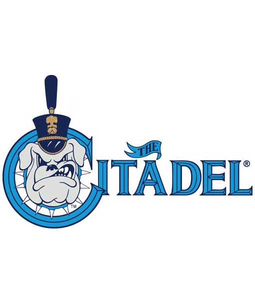 Citadel Bulldogs Cornhole Boards