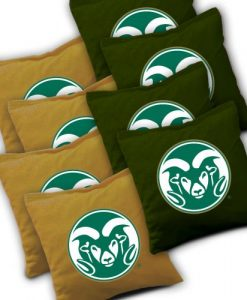 Colorado State Rams Cornhole Bags Set of 8