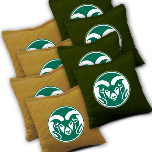 Colorado State Rams Cornhole Bags Set of 8