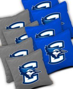 Creighton Bluejays Cornhole Bags Set of 8