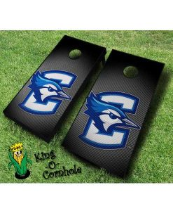 Creighton Bluejays NCAA cornhole boards Slanted
