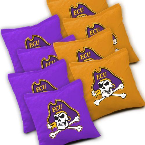 East Carolina Pirates Cornhole Bags Set of 8