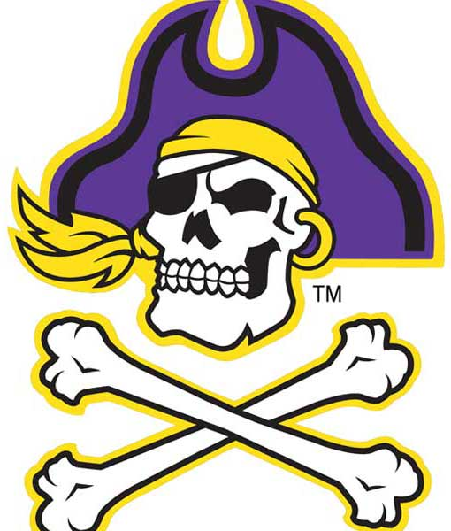 East Carolina Pirates Cornhole Boards