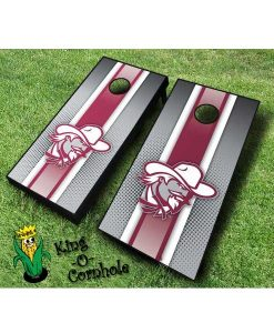 Eastern Kentucky Colonels NCAA cornhole boards Stripe