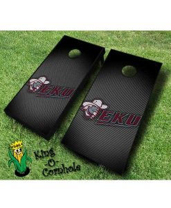 Eastern Kentucky Colonels NCAA cornhole boards Slanted