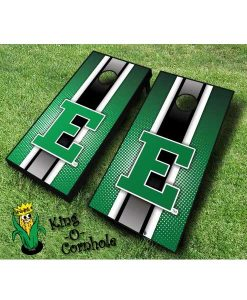 Eastern Michigan Eagles NCAA cornhole boards Stripe