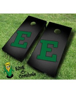 Eastern MichiganEagles NCAA cornhole boards Slanted
